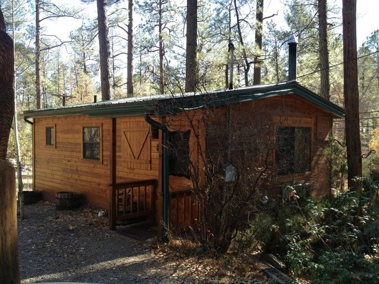 the cabin from the outside picture of story book cabins Storybook Cabins Ruidoso