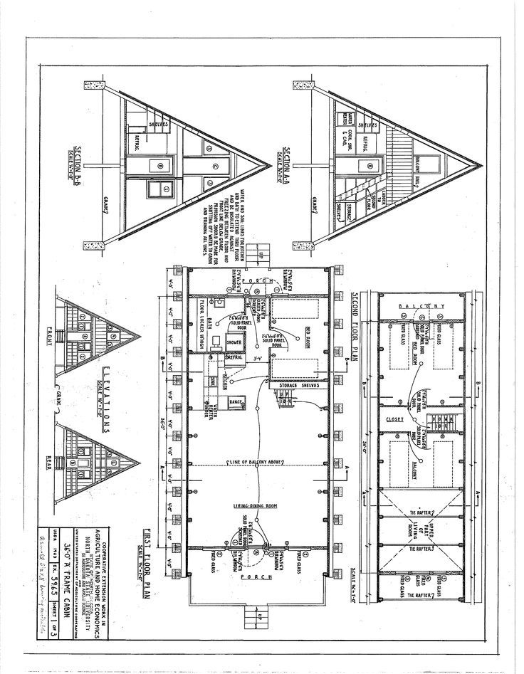 the floor plan for my a frame cabin architect in 2020 a A Frame Cabin Plans With Loft