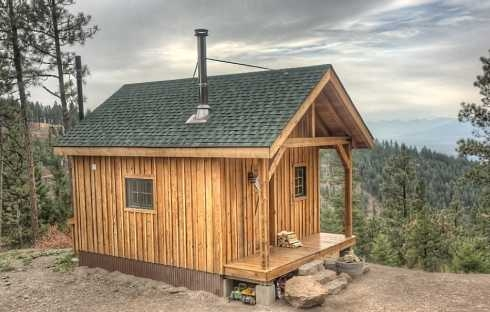 the rustic hunting cabin in our sights Hunting Cabin Designs