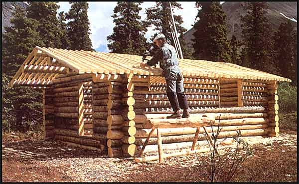 the story of dick proenneke and how he built a cabin hand Dick Proenneke Cabin