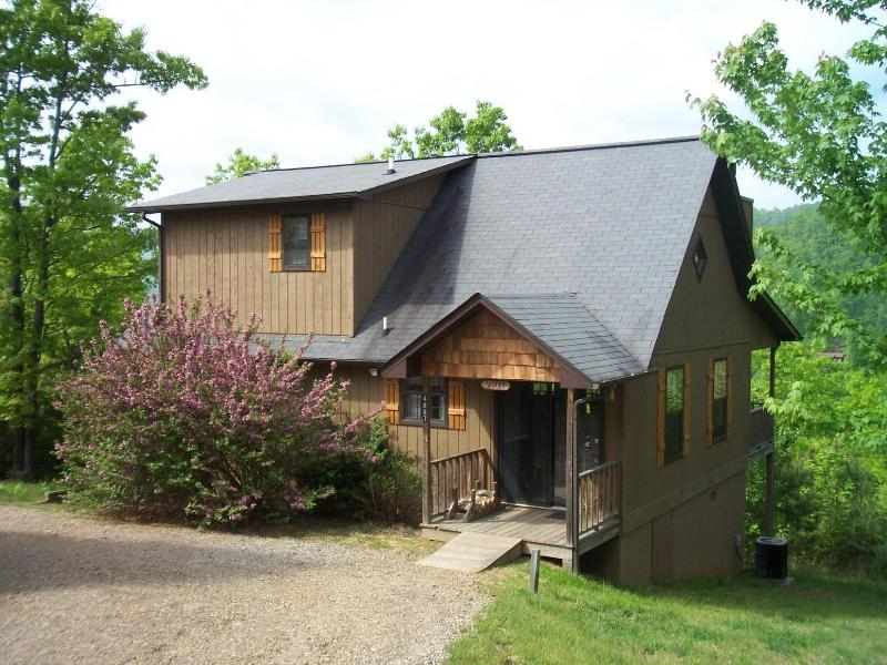 the violet cabin laurel mountain cabins peaceful quiet Cabins In Hiawassee Ga
