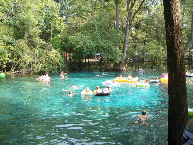things to do rum island retreat Ginnie Springs Cabins
