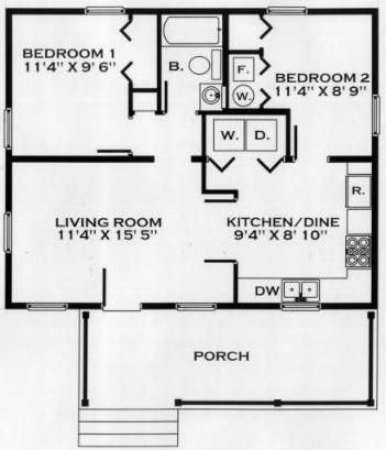this could work with lr and ktcn moved to right for 24×24 Cabin Floor Plans With Loft