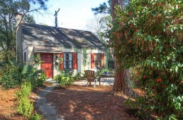 tiny cottage vacation rental in savannah georgia Savannah Ga Cabins