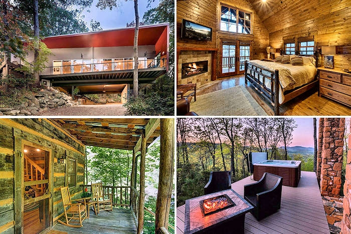 top 600 asheville cabin rentals Pisgah National Forest Cabins