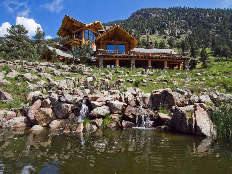 trend alert luxury log cabins with modern layouts Boulder Colorado Cabins