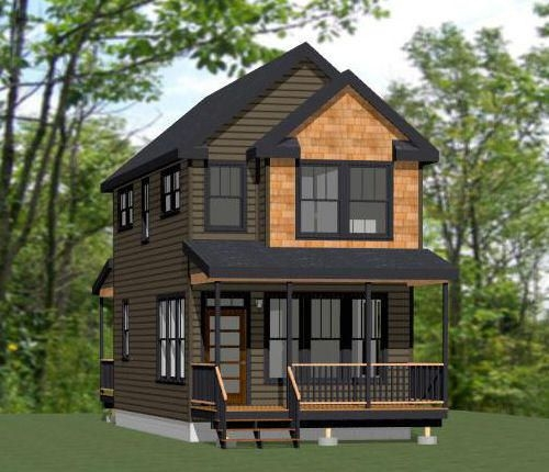 two story tiny house plan tiny house cabins montana Small Two Story Cabin Plans
