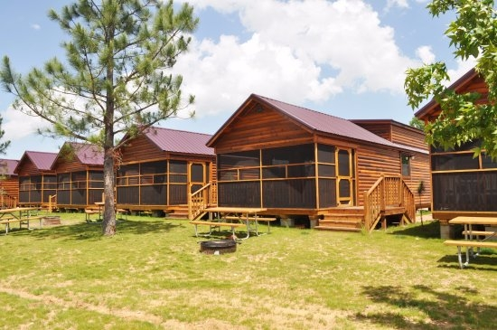 ulrich h2o cabins right next to pirates cove water park Cabins In North Texas