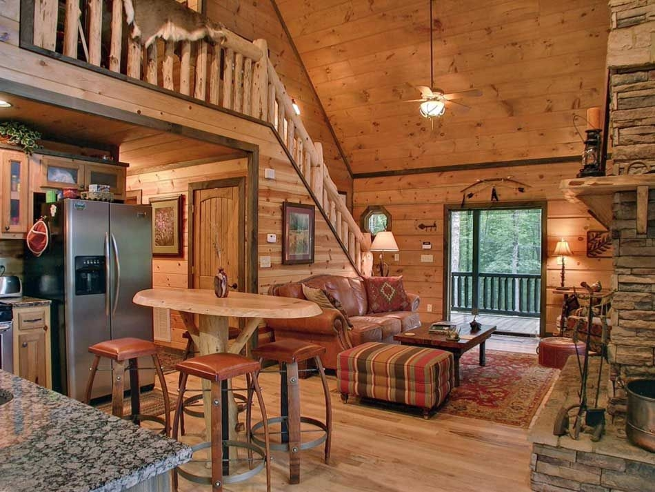 unique cabin interior ideas 3 small log cabin interior Small Cabin Ideas Interior