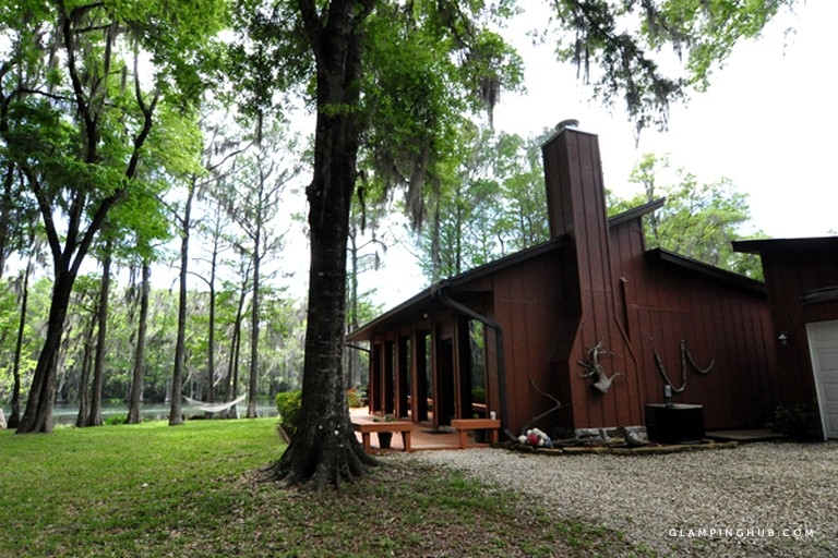 upscale pet friendly cabin along the rainbow river near orlando florida Pet Friendly Cabins In Florida