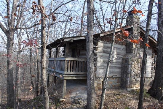 view of back porch wilderness cabin picture of silver Wilderness Cabins Branson Mo