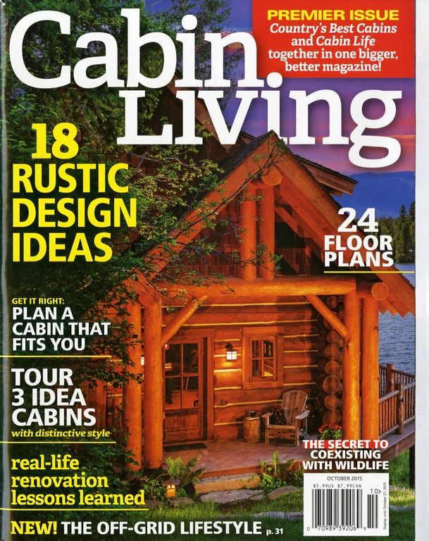 virtual library Cabin Living Magazine