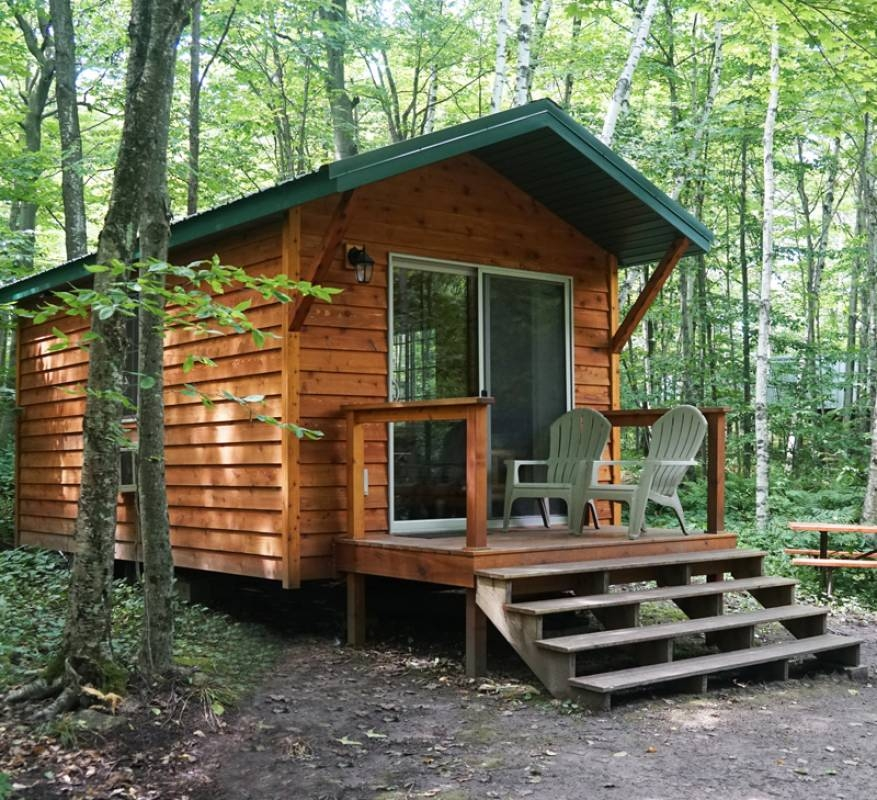 washington island campground located in beautiful door Campground With Cabins