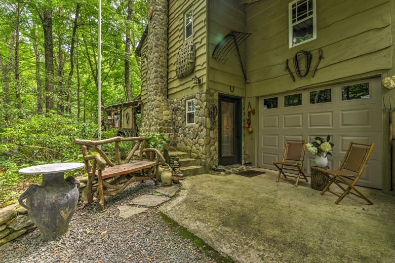 waterfall cabin in the pisgah national forest updated 2019 Pisgah National Forest Cabins