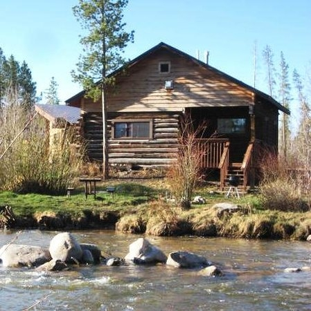 waterfront cabins on the north fork of the colorado river Cabins In Colorado Mountains