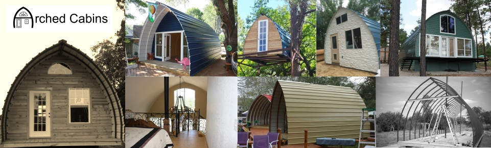 welcome to arched cabins home products Arched Cabin Kits