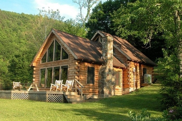 welcome to harmans luxury log cabins in west virginia Cabins West Virginia