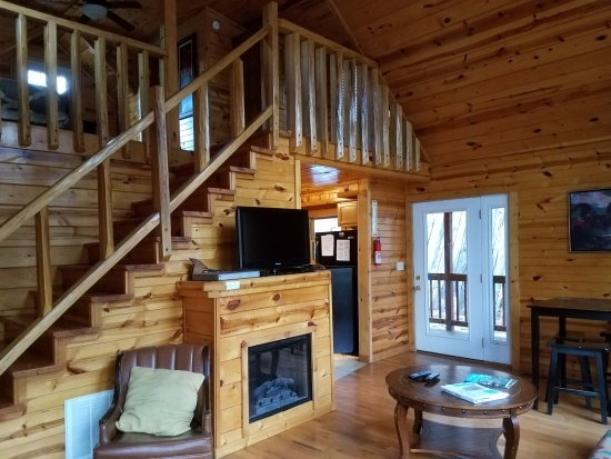 wildcat cabin living room picture of red river gorge Cabins At Red River Gorge