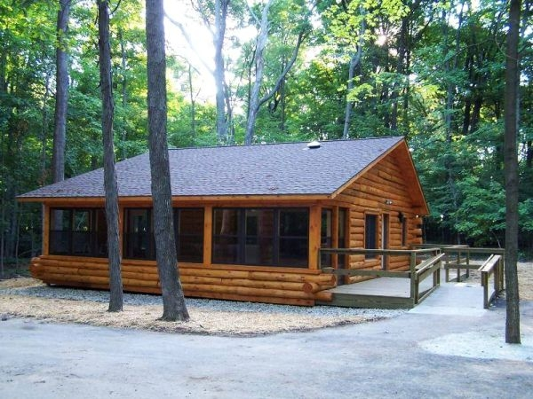 wisconsin camping wheelchair access overview Cabin Camping In Wisconsin