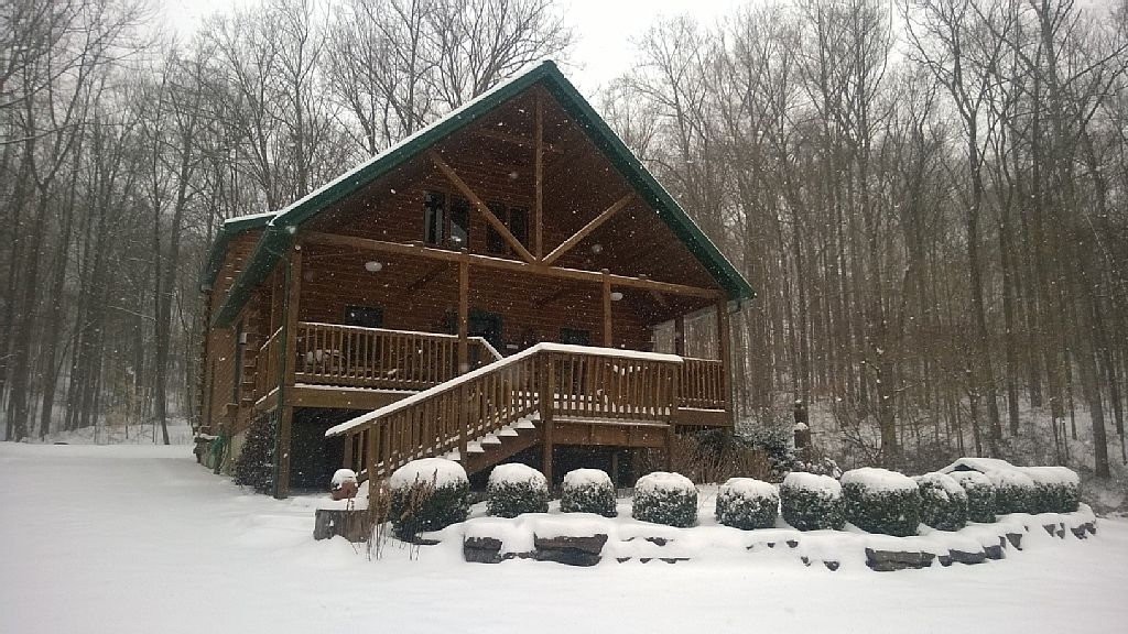wise old owl cabin french lick hoosier forest southern indiana perfect fall retreat 2k 2q Paoli Peaks Cabins