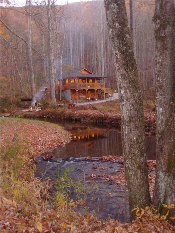 yellow creek cabin secluded on creek nc trout stream near fontana robbinsville Secluded Cabins In Nc