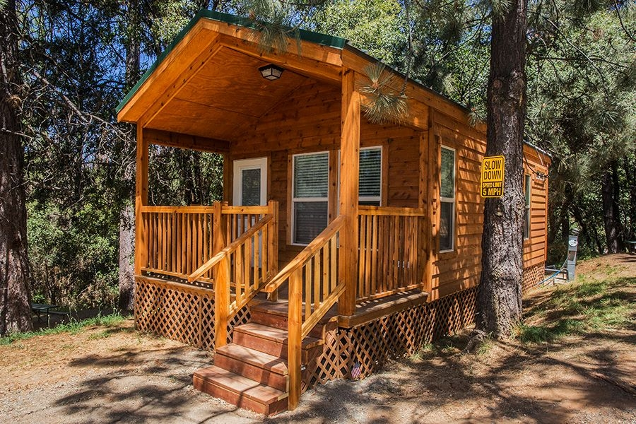 yosemite cabin rentals affordable lodging and yurts near Cabin In Yosemite