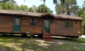 you can now purchase the log cabins from disneys fort Cabins In Orlando Fl