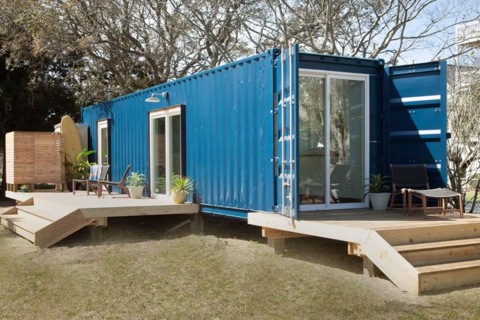 18 shipping container homes to book on airbnb travel channel Shipping Container Cabin