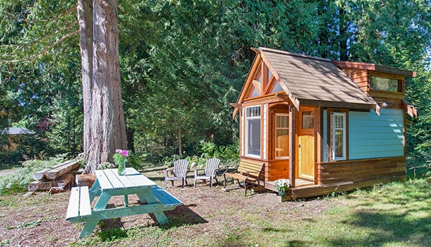 20 tiny house rentals for your next big adventure Tiny House Cabins
