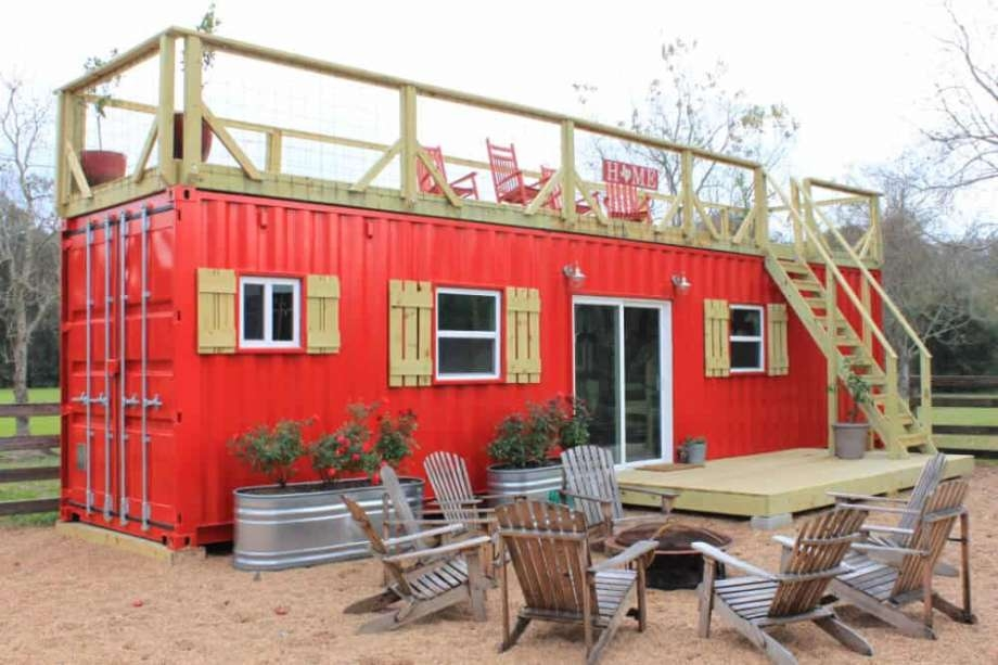 9 shipping container homes you can buy right now sfgate Shipping Container Cabin