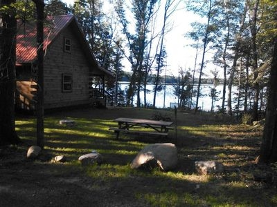 beautiful log cabin situated on quiet smith lake 3 miles north of hayward wi hayward Smith Lake Cabins