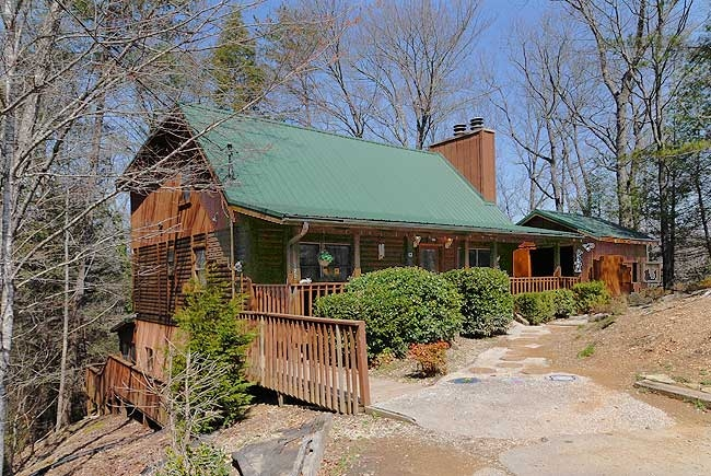 cabins and chalets in pigeon forge tennessee fireside Country Oaks Cabins