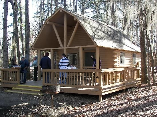 cabins for campground of uchee creek army campground Fort Benning Cabins