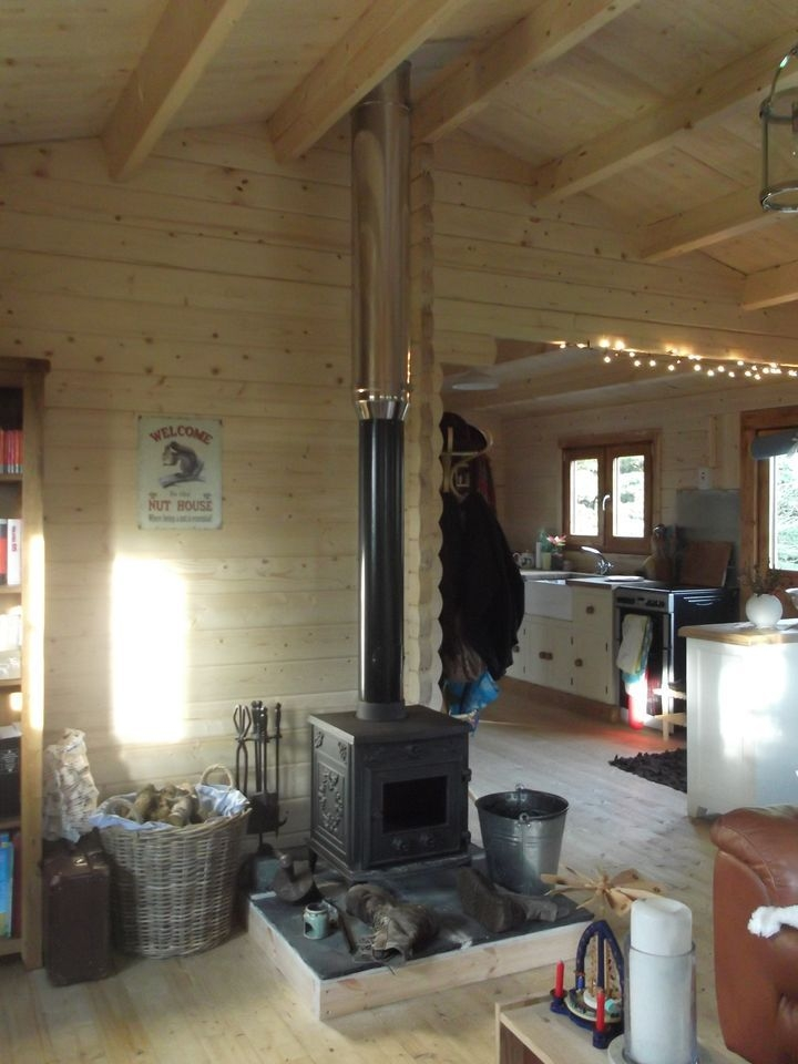 can i install a wood burning stove in my log cabin keops Cabin Wood Stove
