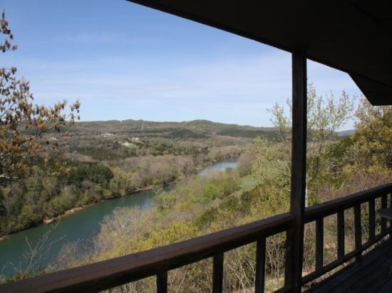 deck views at arkansas white river cabins picture of White River Cabins