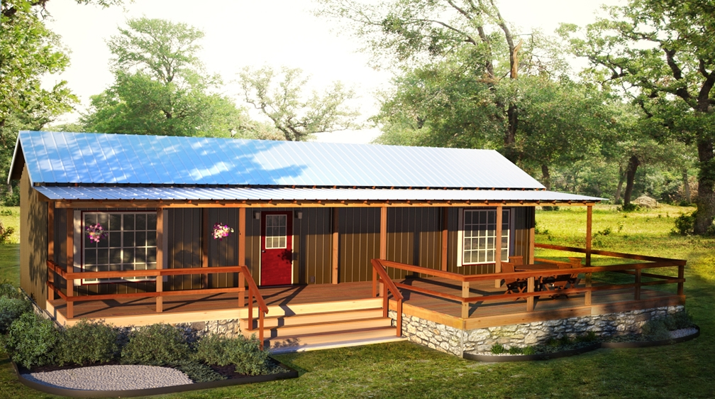 finished cabins Portable Cabins Texas