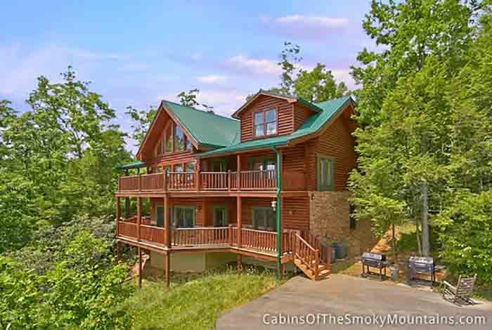 gatlinburg cabin the lodge at whippoorwill 6 bedroom Whippoorwill Cabins