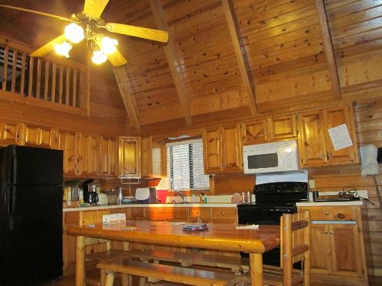 kitchen picture of uchee creek army campground and marina Fort Benning Cabins