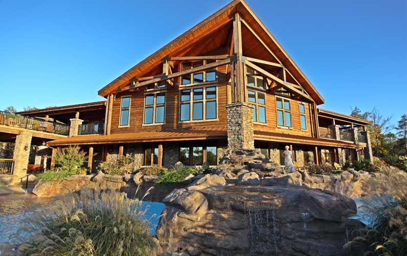 let the adventure rustic charm and pampering begin at Tablerock Lake Cabins