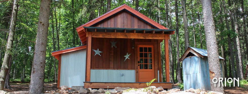 orion rent a tiny house in deep creek lake blue moon Deep Creek Cabins