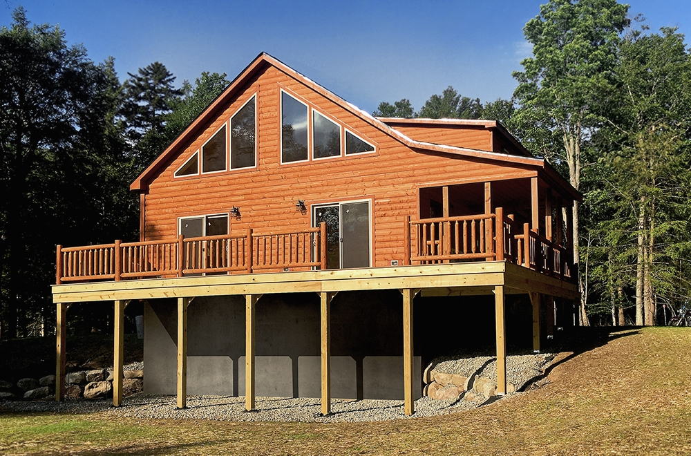 prefab cabins and modular log homes riverwood cabins Manufactured Cabin