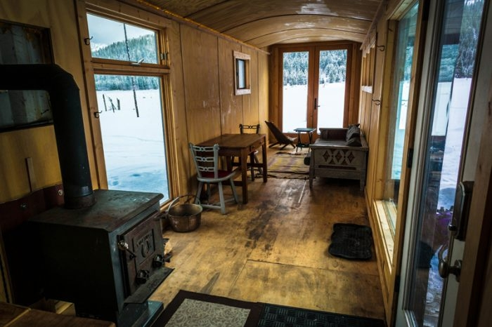 remodel a shipping container for a cabin get away Shipping Container Cabin