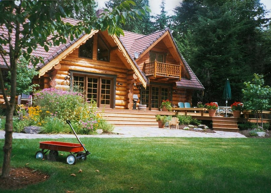rustic landscaping dos donts landscaping network Cabin Landscaping Ideas