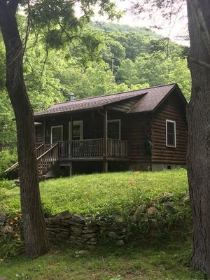 secluded mountain cabin in nc black mountain Nc Mountain Cabins