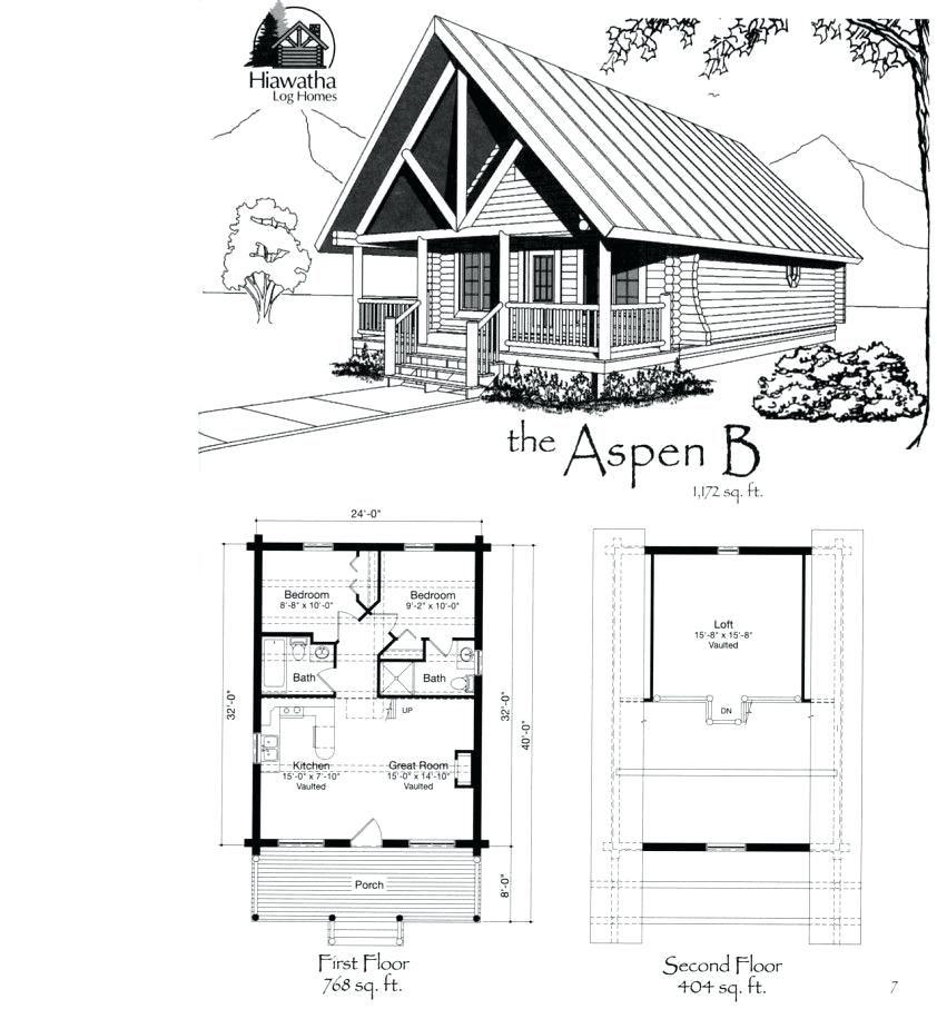 small cabin with loft floor plans hybridmediasl Amazing Small House Cabin Plans Designs