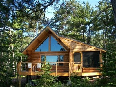 tettegouche log cabin north shore lake superior w sauna silver bay Cabins On Lake Superior