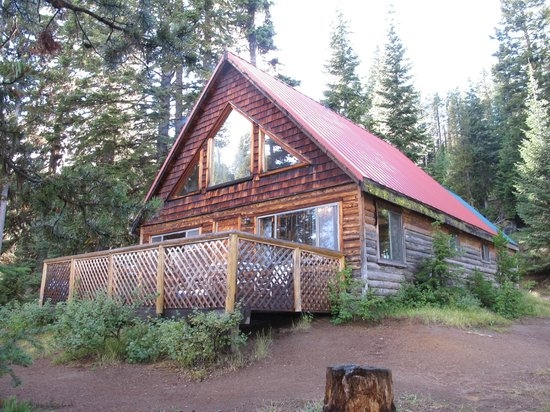 the cabins are absolutely filthy review of paulina lake Paulina Lake Cabins