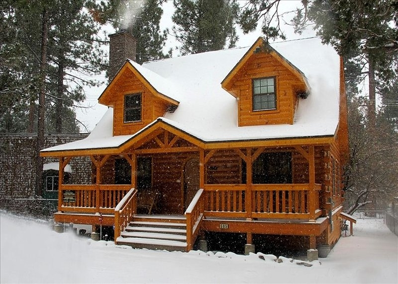 the holiday cabin in big bear cityca has cablesatellite tv Cabins In Big Bear