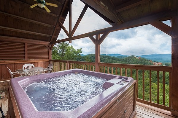 1 amazing view a pigeon forge cabin rental Amazing View Cabins