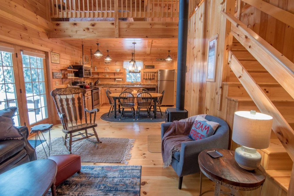 10 cozy cabins for rent in new hampshire new england today Log Cabin Rentals New England